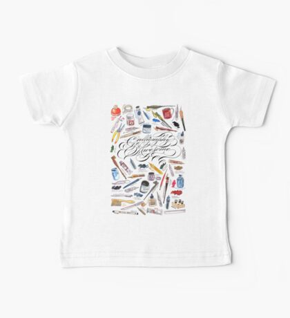Calligraphy Is Awesome! Baby Tee