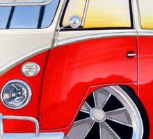 VW Splitty (15 Window) Camper (A) Sticker