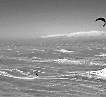 Lost at Sea (BW) by John Brotheridge