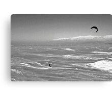Lost at Sea (BW) Canvas Print