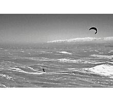 Lost at Sea (BW) Photographic Print
