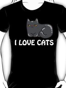 I Love Cats T Shirt T-Shirt