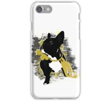 Frenchie portrait iPhone Case/Skin