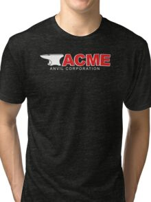 Acme Anvil Corporation Funny T-Shirt Tri-blend T-Shirt