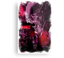 "Xenomorph ""Xenomorphobia"" Alien  Metal Print"