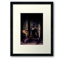 Dark Swan;  Framed Print