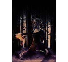 Dark Swan;  Photographic Print