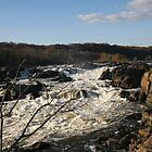 Great Falls of the Potomac by Ilan Cohen