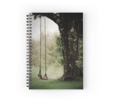 Thoughts of a Swing Spiral Notebook