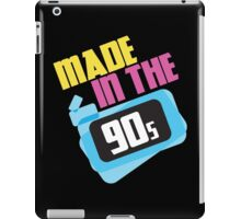 Made in the 90s iPad Case/Skin