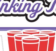 Drinking Team Sticker