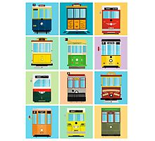 Streetcars of San Francisco Photographic Print