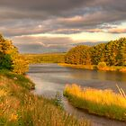 River Dee Looking East at Milton of Crathes by Scott  Andrew