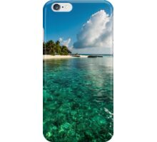 Emerald Purity. Kuramathi Resort. Maldives iPhone Case/Skin
