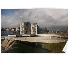Scottish Parliament Poster
