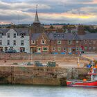 Evening at Stonehaven Harbour by Scott  Andrew