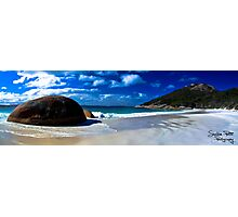 Little Beach Panorama Photographic Print
