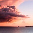 Godrevy Lighthouse at Dawn by Adam Webb