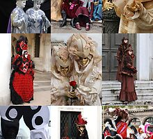 Venice Carnival People  by jojobob