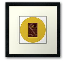 How I met your mother Icon Framed Print