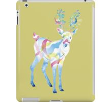 Deer - colorful ghost iPad Case/Skin