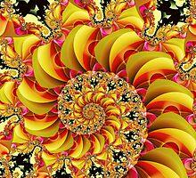 Spiral:  Ima Peach by myxtl