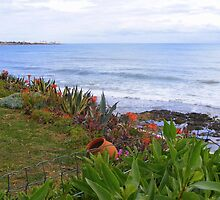 Garden by the sea by LadyE