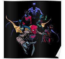Bat Family Poster