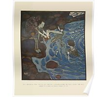 Fairies I Have Met - Rudolph Stawell - Art by Edmund Dulac - 1910 - 0057 - And Because the Silver of the Moonshine Faries is Very Light Poster