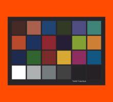 Color Checker Chart Kids Clothes