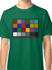 Color Checker Chart Classic T-Shirt