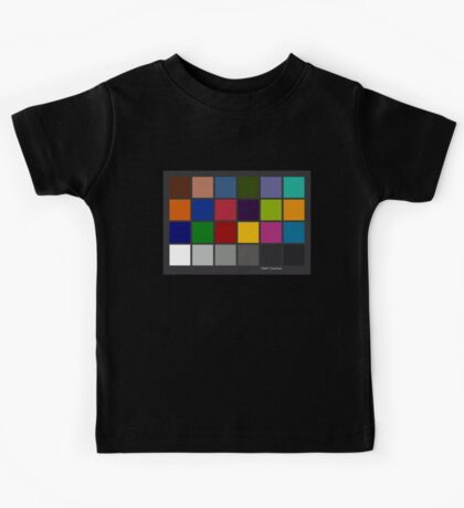 Color Checker Chart Kids Tee