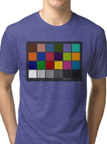 Color Checker Chart Tri-blend T-Shirt