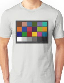 Color Checker Chart Unisex T-Shirt