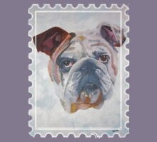 American Bulldog Portrait by taiche
