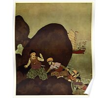 Princess Badoura, a tale from the Arabian Nights - 1913 - Edmund Dulac - 0129 Poster