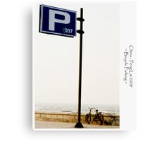 Places: Qing Dao China IV Canvas Print
