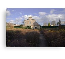 Queen Elizabeth Garden Canvas Print