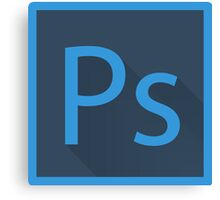 Photoshop Logo Canvas Print