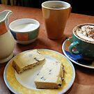 Coffee & Chocolate Chip Shortbread by Alice McMahon