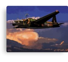 Outward Bound: 303 Squadron Vickers Wellington Canvas Print