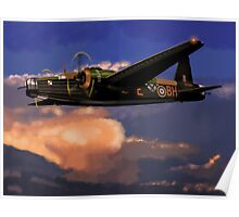 Outward Bound: 303 Squadron Vickers Wellington Poster