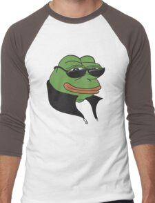Cool Pepe t-shirt - Pepe the Frog Men's Baseball ¾ T-Shirt