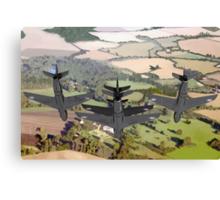 The Black Arrows: Hawker Hunters of 111 Squadron Canvas Print