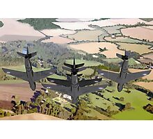 The Black Arrows: Hawker Hunters of 111 Squadron Photographic Print