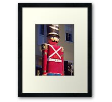 Toy  Soldier Framed Print