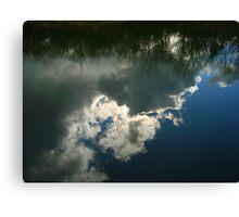Cloud Reflection Canvas Print