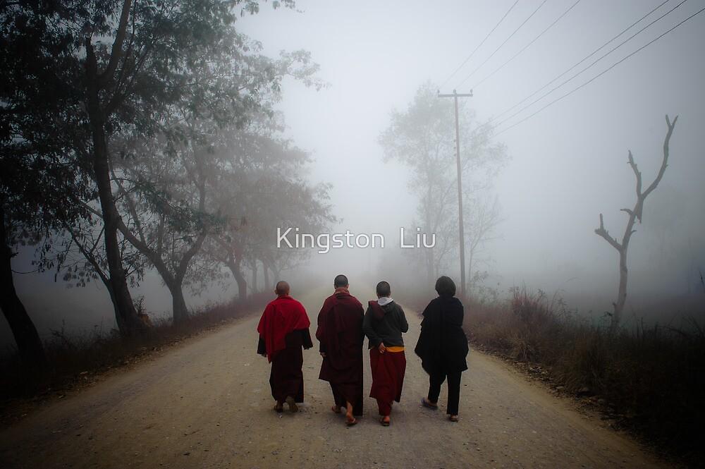 Mysterious Nuns by Kingston  Liu