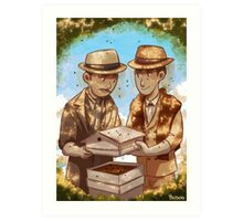 The Beekeeper Detectives Art Print