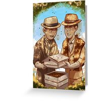 The Beekeeper Detectives Greeting Card